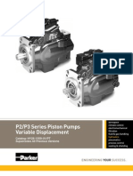 P2 P3 Series Piston Pumps Variable Displacement HY28 1559 01 PT