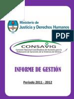 Consavig_Informe de Gestion 2011-2012