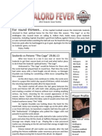 Sealord Fever 2013 Issue Twelve