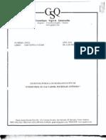 Escritura de Reorganización Unopetrol S.A. 2011