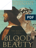 Blood & Beauty by Sarah Dunant, Excerpt