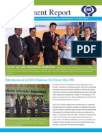 ACCU Management Report May 2013