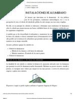 Cálculo de instalaciones de alumbrado. Manual de luminotecnia