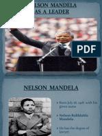 Leadership of Nelson mandela