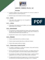 REGLAMENTO Torneo Playa 3x3