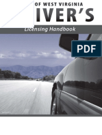 West Virginia 2013 Drivers Handbook