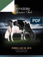 Sale Catalog - Cormdale Summer Sale