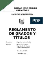 43645795 Reglamento de Grados y Titulos UJCM1