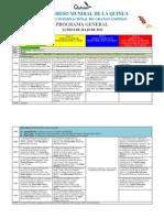 Programa General de Conferencias-IV Congreso Mundial de La Quinua y I Simposio Internacional de Granos Andinos-20130627