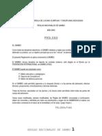 Reglamento Sambo 2003