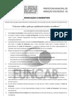 (PRV) Búzios-RJ - 2012 - FUNCAB - Analista Comunicação e Marketing