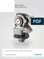 Drivers for Solar Tracking