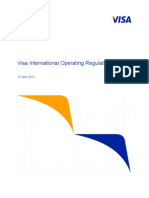 Visa International Operating Regulations Main