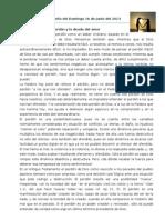 Comentario Al Evangelio Del Domingo 16 de Junio Del 2013