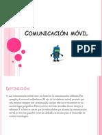 Comunicación móvil sonia