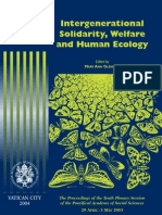 Acta 10 (Intergenerational Solidarity, Welfare and Human Ecology)