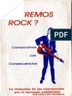 Jean Paul Regimbal - La Violacion de Las Conciencias Por El Mensaje Subliminal
