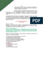 ley de recursos hídricos - ANA-monografia