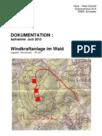 Windkraftanlagen Im Wald