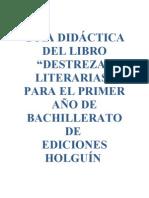 Guia Destrezas Literarias