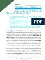 02-07-13 ACTIVIDAD MUNICIPAL Policía de Barrio Ventorrillo.doc