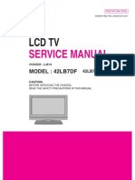 lg 42lb5df 42lb5df ul lcd tv service manual download