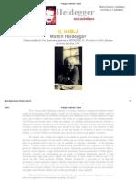 Heidegger en Castellano - El Habla