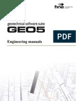 Geo5 Engineering Manuals