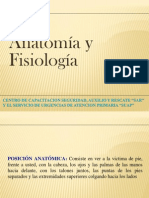 Fisiologia Y Anatomia Basica