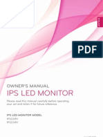 LG IPS MED Monitor User Manual