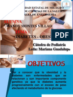 Exposicion de Pediatria Diabetes - Obesidad