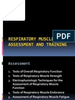 Respiratory Muscle Assessment
