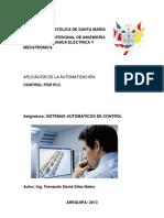 ANTOLOGIA SISTEMAS AUTOMATICOS DE CONTROL . MECATRONICA