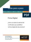 Paso a Paso Certifica Do Firm a Digital