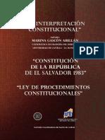 La interpretación constitucional - Marina Gascón (2a. Edición)