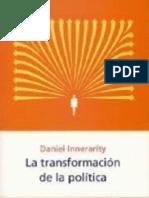 La transformación de la política - Daniel Innerarity
