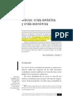 México_crisis simbólica y crisis económica_Juan Castaingts Teillery