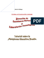Tutorial Moodle Universidad de Malaga