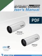 Manual Vivotek IP 8330 and IP 8332