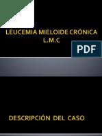 Caso clinico leucemia mieloide crónica