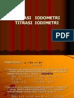 Titrasi Iodometri