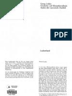 Lukács - Die Verdinglichung und das Bewußtsein des Proletariats (aus Gesch. und Klassenb.)-2