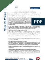 Pobreza Nota Prensa 067 2013 INEI