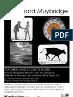 Muybridge in Kingston Teachers Pack-4