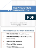 Virus Respiratorios y Exantematicos