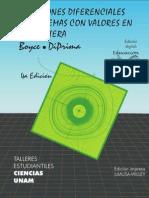 Ecuaciones Diferenciales y PVF Boyce DiPrima