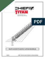 Roof Walkway and Peak Handrail - 349537