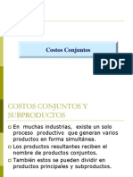 Clase de Costos Conjuntos 2010