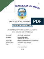 Auditoria Finaniera Ii_norma Internacional de Control de Calidad
