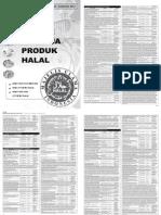 Daftar Belanja Produk Halal